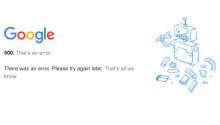 Google services are down right now (Update: they're back)