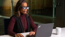 Lenovo's sleek new AR glasses project 5 virtual monitors at once