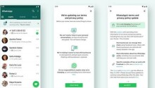 WhatsApp will ease you into accepting its privacy policy with a banner