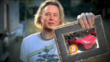 Bitcoin rises to nearly $32,000 as Musk says Tesla will 'likely' accept it again