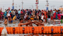 India's AI to catch mask-less people at a festival attended by millions sounds pointless