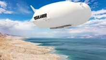 Blimps could reduce air travel CO2 emissions, but not without a cost