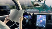 3 in 10 Americans would rather swim with sharks than ride an autonomous vehicle Featured Image