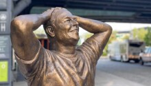 Elon Musk's new statue in NYC is proof that God is dead