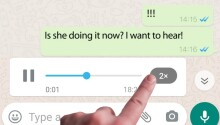 How to play irritating WhatsApp voice messages faster