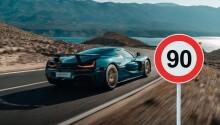 Rimac Nevera test driver succumbs to temptation, hits illegal 232kph on public road