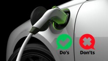 Yes, there's an EV charging 'etiquette' — so listen up