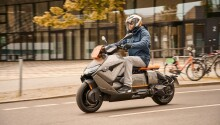Feast your eyes upon BMW's new electric scooter