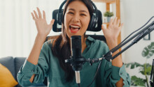Did you know voice over artists can make $30 an hour or more? This course package can help develop your own golden tones. Featured Image