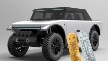 The Pioneer 4×4 is an EV with a range extender and a… fabric exterior?