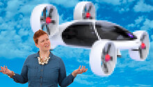 What's the difference between air taxis, passenger drones, and eVTOLs? Featured Image