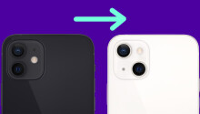Why did Apple change the camera position on the iPhone 13?