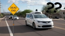 'Confused' Waymo robotaxis keep flooding dead-end street in San Francisco