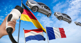 Tesla Model 3 dominates all other EVs in France, Germany, and the Netherlands