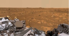 Watch a 360-degree video of Mars captured by the Perseverance Rover