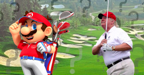 Is Mario Golf or 'real' golf better? We solved it with MATH