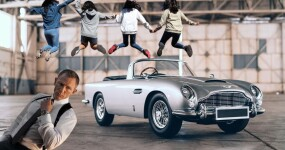 A kid's replica of James Bond's car exists AND IT MUST BE MINE