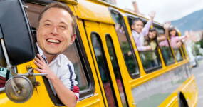 An analysis of what would happen if Elon's proposed tax dollars were spent on public transport