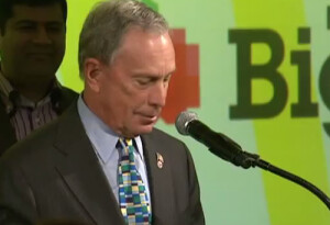 New York Mayor Mike Bloomberg speaks at the 2012 BigApps Awards
