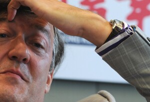 Stephen Fry is tickled by Ticckle's online video debate platform