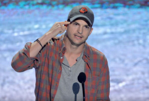 Ashton Kutcher isn't just Steve Jobs by day… But also Steve Jobs by night. (Video)