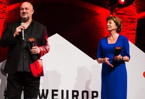 Neelie Kroes and Werner Vogels honored with lifetime achievement awards at TNW Europe Conference