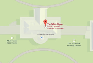 Google Maps exposes Edward Snowden's hideout in the White House