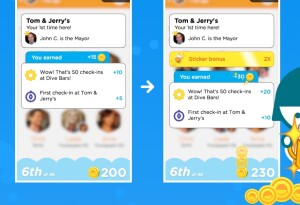 Foursquare's Swarm gets an in-app virtual currency