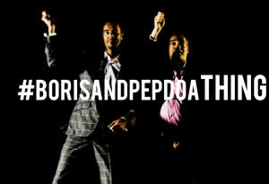 Watch the pilot for our new video series #BorisAndPepDoAThing