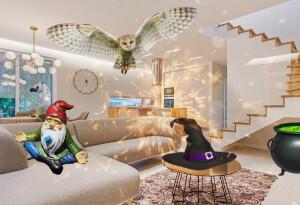 Future interior design will make you feel like a wizard
