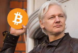 Wikileaks' Bitcoin donations spike following Julian Assange's arrest