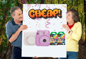CHEAP: Say 'CHEESE,' fool — the Fujifilm Instax Mini 9 bundle has 40% off