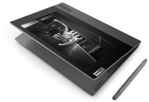 Lenovo put an e-ink display on the lid of its ThinkBook Plus laptop, and it's kinda genius