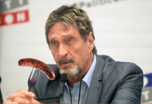 Forks down: John McAfee reneges on promise to 'eat his dick' if Bitcoin fails to hit $1M