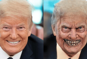 Zombify your face for Halloween with this creepy AI app