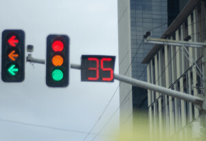 Adaptive traffic lights trial aims to cut fuel consumption by 20%