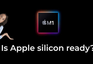 This handy site tells you if specific apps work on Apple Silicon yet