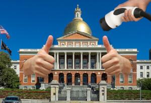 Massachusetts copies California with gasoline car sales ban