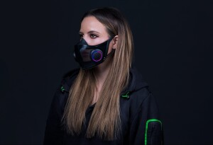 Razer shows off a super extra mask at CES — I want it on my face