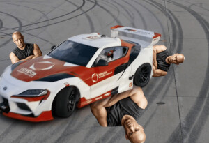 Watch Toyota's self-drifting car put Vin Diesel out of a job