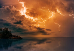 A lightning strike may have helped spark life on earth — here's how