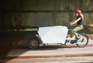 Cargo bikes vs delivery vans: Urban Arrow on the future of logistics