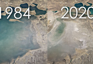 Google Earth's stunning new feature is a timelapse of the entire friggin' planet