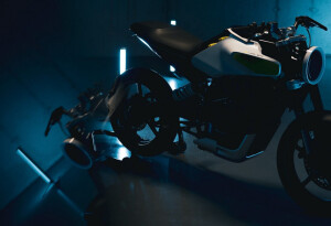 Feast your eyes on Husqvarna's stunning electric motorcycle concept