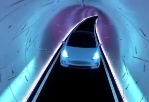 Watch humans drive slowly in Elon Musk's 'revolutionary' $52M tunnel