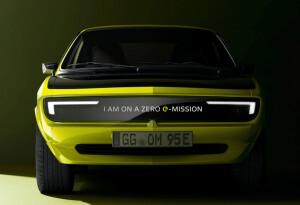 Meet the Opel Manta GSe ElektroMOD: A classic made for the future