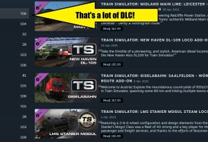 Just putting it out there: There's no such thing as too much DLC
