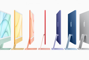 The slim new iMac is powered by M1 and comes in 7 gorgeous colors