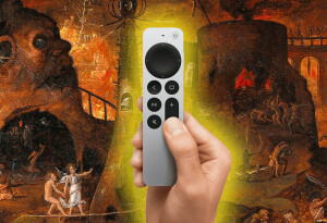 With the new Apple TV remote, the nightmare finally ends