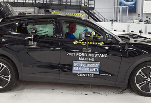 Two new EVs score top marks in safety tests because of their headlights…